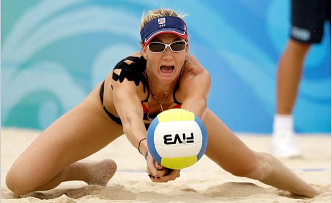 Кинезиотейпинг при волейбол
